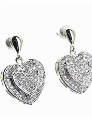 22mm-Heart-Earrings-100-Percent-Cubic-Zirconia-BOUTIQUE-GIFT