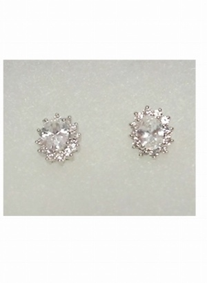 Oval-Cut-Cubic-Zirconia-Stud-Earrings-BOUTIQUE-GIFT