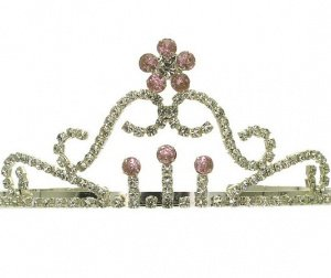 Floral-Pink-Clear-Crystals-Acrylic-Stones-Tiara