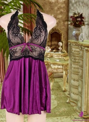 Purple-Halter-Black-Lace-Babydoll-DISPLAY-GONE-GLOBAL-WORLDWIDE-APP.
