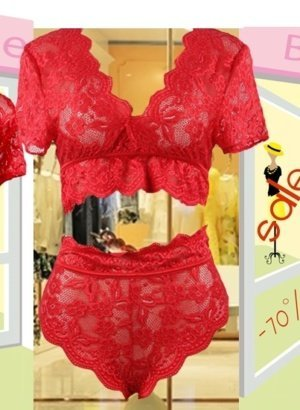 Red-Scalloped-Lace-High-Waist-2-Piece-DISPLAY-global-omni-channel-Boutique