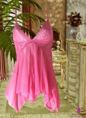 Rosy-Pink-Lace-Asymmetric-Babydoll-DISPLAY-GONE-GLOBAL-APP