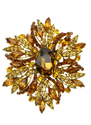 4-Inches-High-Oversize-Floral-Statement-Brooch-Topaz-1.