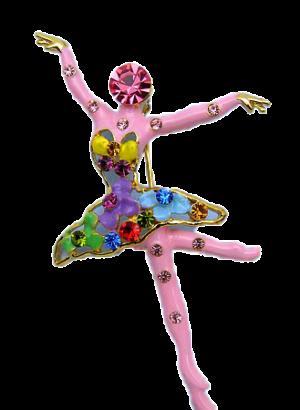 69mm-Pink-Crystal-Ballerina-Goldtone-Tip-Toes-1