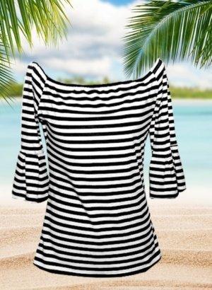 Black-White-Striped-Bell-Sleeve-DISPLAY-global.