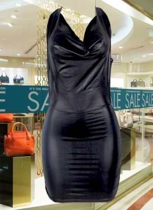 Faux-Leather-Strappy-Bodycon-Wetlook-Clubwear-Dress-DISPLAY-GLOBAL-APP