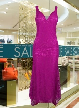 Purple-Lace-Hot-Pink-Satiin-Fully-Lined-Evening-Dress-DISPLAY-global-worldwide-APP