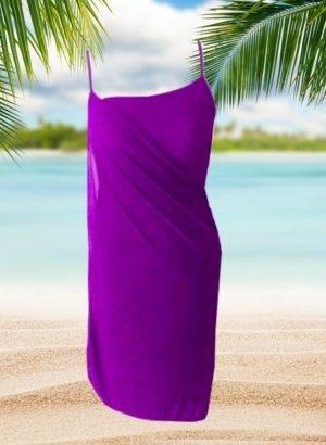 Purple-Resort-Cruise-Wear-Wrap-Dress-DISPLAY-global-APP