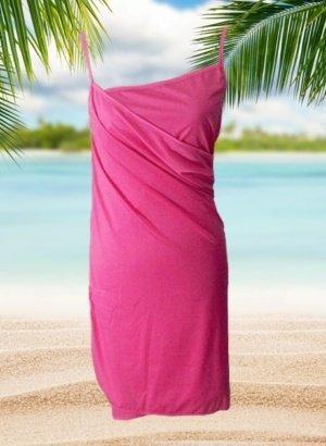 Resort-Cruise-Wear-Wrap-Dress-Hot-Pink-DISPLAY-global-APP