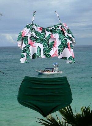 Mayan-Goddess-Tropical-High-Waist-Bikini-4-Sale-in-Corozal-Bay-Belize