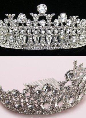 1.75-Inches-High-Genuine-Crystals-Elegant-Tiara-Comb