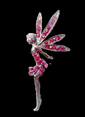70mm-Pink-Austrian-Crystals-Fairy