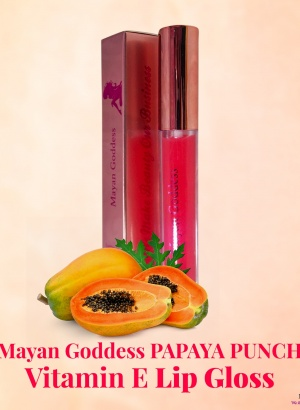 Mayan-Goddess-Boutique-PAPAYA-PUNCH-Lip-Gloss-customized